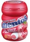 échantillons tests de Mentos Squeeze fraise