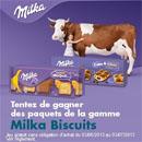 Gagnez des paquets de gâteaux Milka