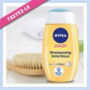 échantillon test de shampooing extra-doux NIVEA BABY