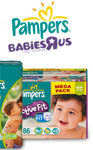 Gagnez 1 an de couches Pampers !