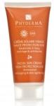 échantillon test de crème solaire anti-âge visage