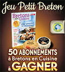 Abonnements gratuits au magazine Bretons en Cuisine