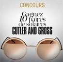 paires de lunettes Cutler and Gross