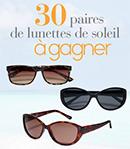 30 paires de lunettes de la marque Solaris à gagner