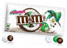 échantillon test de M&M's Coconut