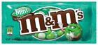 échantillon test de m&m's menthe-chocolat