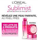 testez les soins Peau Parfaite Sublimist Parfaite de L'Oréal Paris