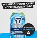 ODR: Rasoir Hydro de Wilkinson