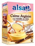 échantillon test de crème anglaise Alsa