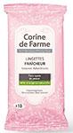 échantillons tests de lingettes Corine de Farme