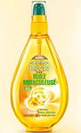 échantillon test de l'huile miraculeuse Garnier Fructis