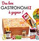 Des box Gastronomiz à gagner