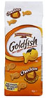 échantillons tests de biscuits Goldfish