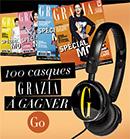 Concours Grazia pour gagner des casques