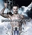 échantillons et miniatures du parfum Paco Rabanne Invictus