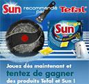Produits Tefal et Sun à gagner