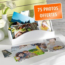 Développer vos photos : 75 tirages gratuits avec Pixum
