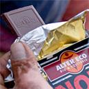 Tablettes de chocolat gratuites