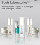 échantillons tests de soins Boots Laboratories