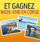 Gagnez un voyage en Corse