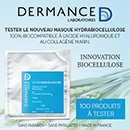 échantillon test de masque Anti-Soif de Biocellulose