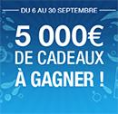 Concours Fnac: 5000€ de cadeaux à gagner !