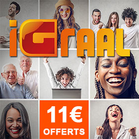 Gagnez de l'argent avec iGraal: 11€ offerts