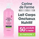 échantillon test de soin Corine de Farme