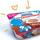 échantillon test de crème Nestlé pour bébé