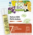 échantillon test de Roll on SOS bobo So'Bio étic