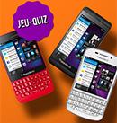 Des smartphones BlackBerry à gagner
