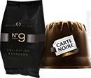 échantillons de capsules Carte Noire Collection Espresso