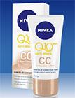 échantillon test de la CC Crème Q10+ Nivea