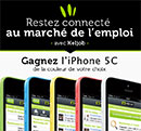 Gagnez un iPhone 5C avec Keljob