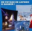 Gagnez un voyage en Laponie