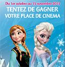 Places de cinéma pour un Disney à gagner