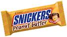 échantillons tests de Snickers au beurre de cacahuètes