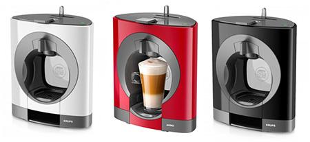 machines à café Dolce Gusto Oblo