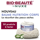 échantillon test de Baume Haute Nutrition Nuxe