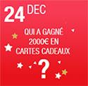 Concours de Noël Carrefour Market