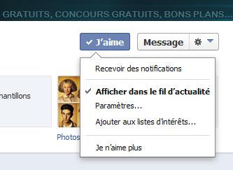 bons plans sur Facebook