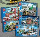 Gagnez des jeux Lego City