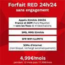 Bon plan promotion SFR