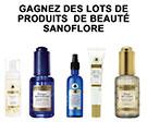 Gagnez des produits Sanoflore