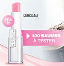 échantillon test du Baume Caresse L'Oréal
