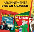 Magazines enfants gratuits