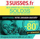 Coupons de réduction 3 Suisses