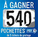Tickets de grattage gratuits
