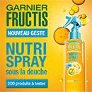 échantillon test de soin Fructis de Garnier