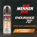 échantillon test déodorant Mennen